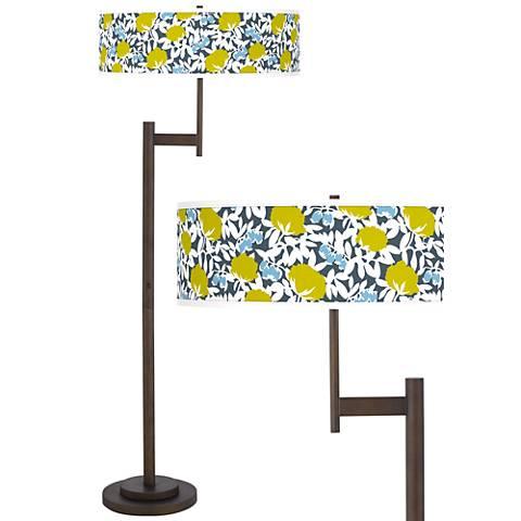 Seedling by thomaspaul Hedge Light Blaster Bronze Floor Lamp
