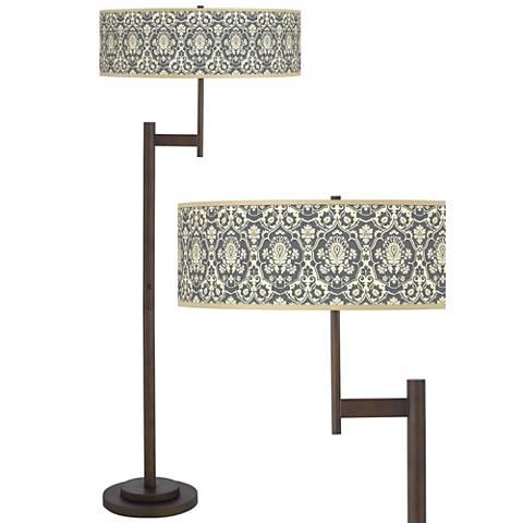 Seedling by thomaspaul Damask Light Blaster™ Floor Lamp