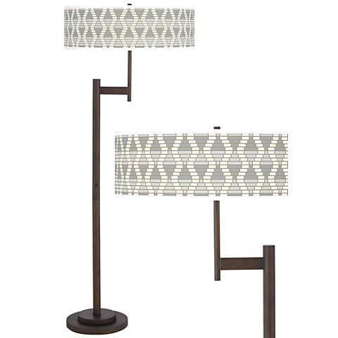 Stepping Out Giclee Parker Light Blaster™ Floor Lamp