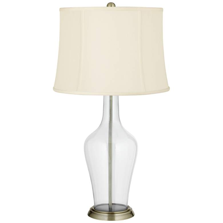 Clear Glass Fillable Anya Table Lamp