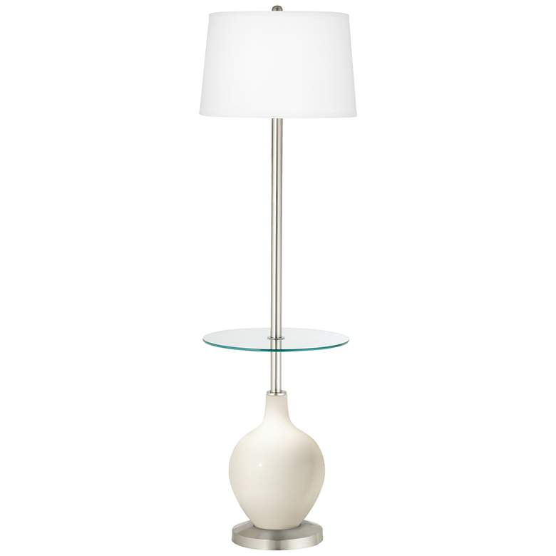 West Highland White Ovo Tray Table Floor Lamp