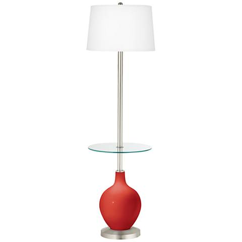 Cherry Tomato Ovo Tray Table Floor Lamp