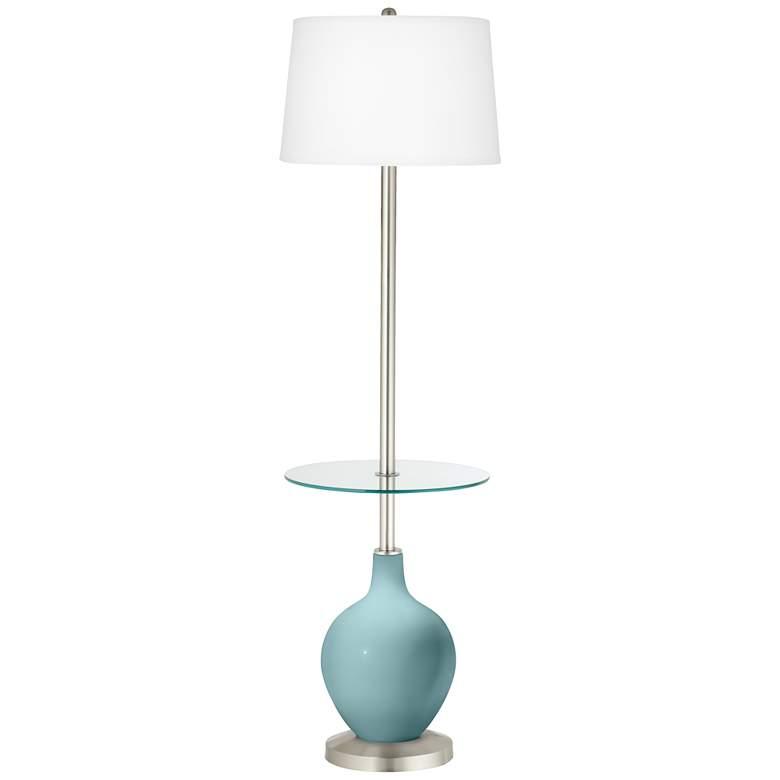 Raindrop Ovo Tray Table Floor Lamp