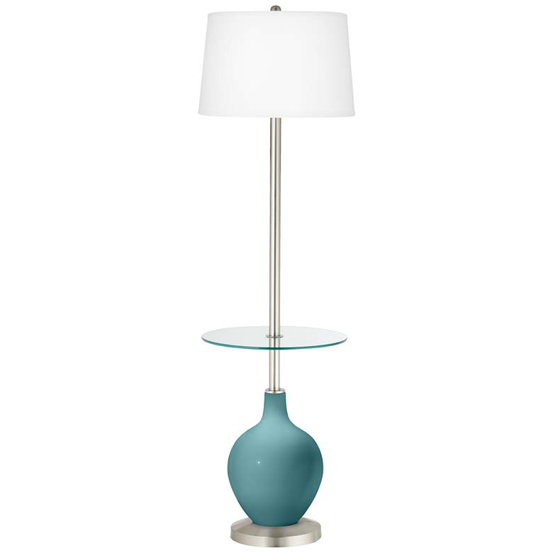 Reflecting Pool Ovo Tray Table Floor Lamp