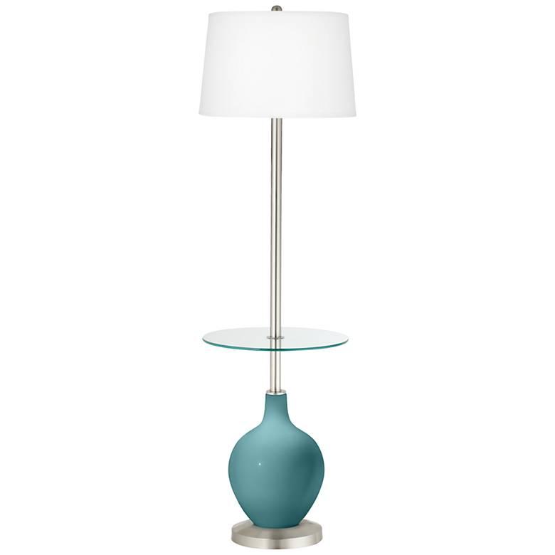 Reflecting Pool Ovo Tray Table Floor Lamp