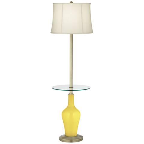 Lemon Twist Anya Tray Table Floor Lamp