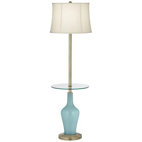 Raindrop Anya Tray Table Floor Lamp