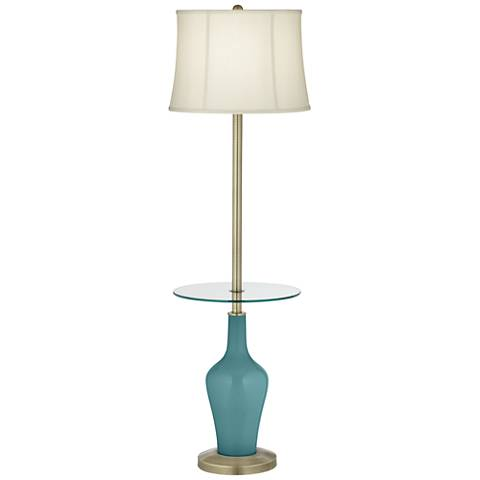 Reflecting Pool Anya Tray Table Floor Lamp