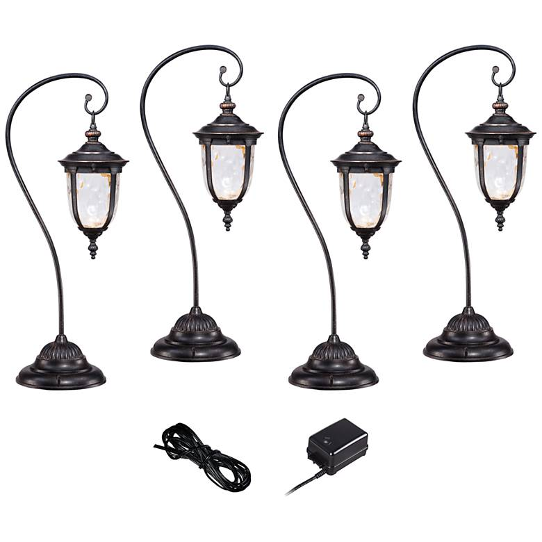 Bellagio Bronze 6-Piece LED Landscape Light Kit Set