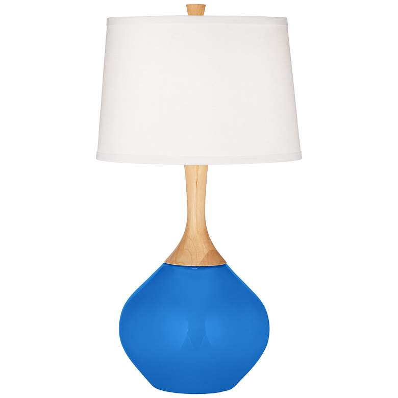 Royal Blue Wexler Table Lamp