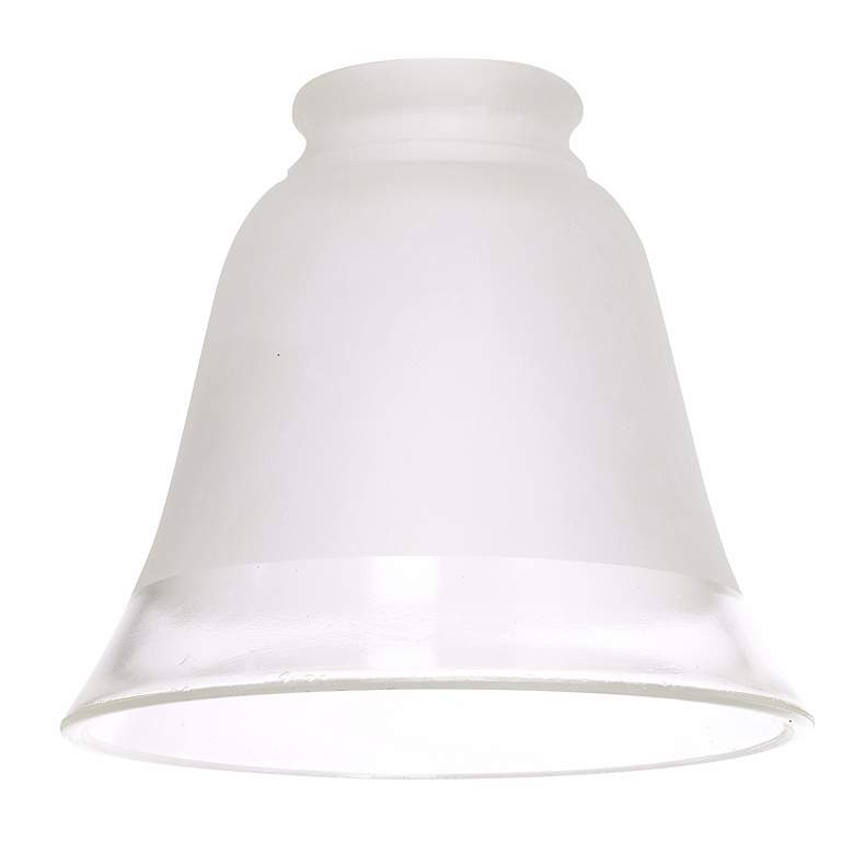 """2 1/4"""" Fitter Set of Four Frosted Glass"""