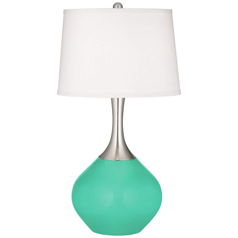 Turquoise Spencer Table Lamp