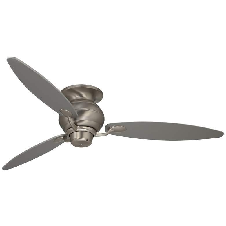 """60"""" Spyder™ Hugger Silver Blades Ceiling Fan"""