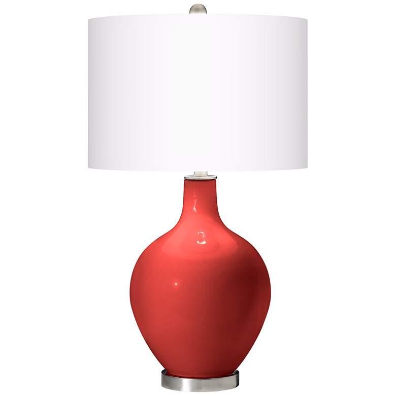 Cherry Tomato Ovo Table Lamp