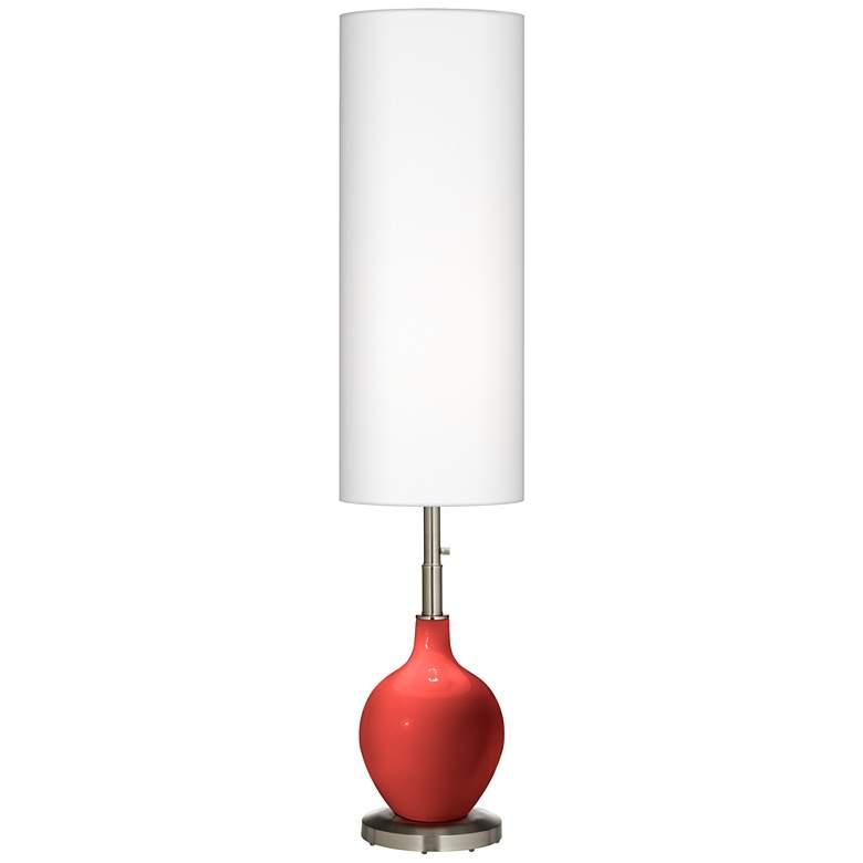 Cherry Tomato Ovo Floor Lamp
