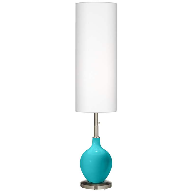 Surfer Blue Ovo Floor Lamp