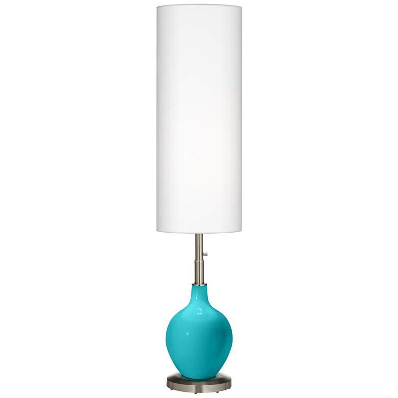 Surfer Blue Ovo Floor Lamp