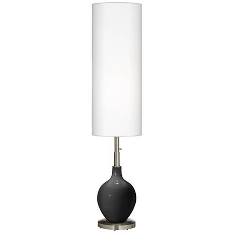 Tricorn Black Ovo Floor Lamp