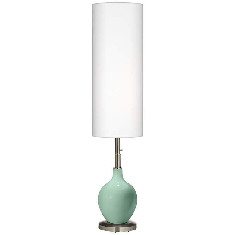 Grayed Jade Ovo Floor Lamp