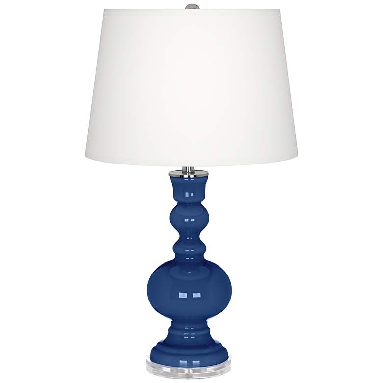 Monaco Blue Apothecary Table Lamp
