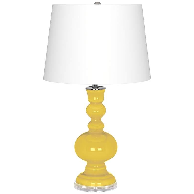 Lemon Zest Apothecary Table Lamp
