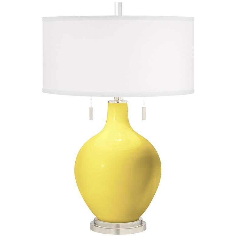 Lemon Twist Toby Table Lamp