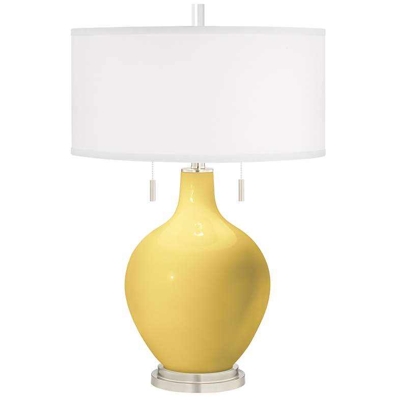 Daffodil Toby Table Lamp