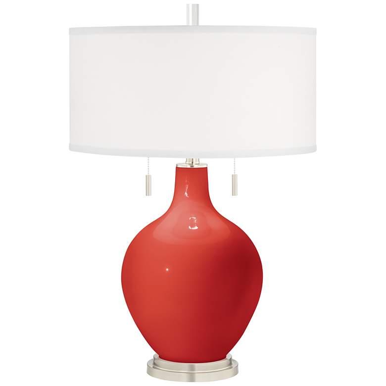 Cherry Tomato Toby Table Lamp
