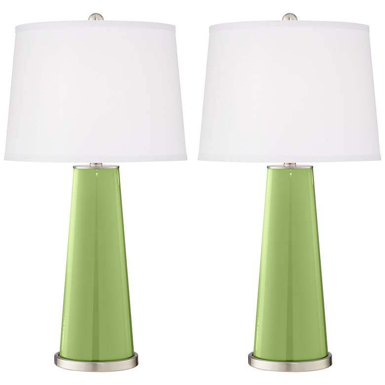 Lime Rickey Leo Table Lamp Set of 2