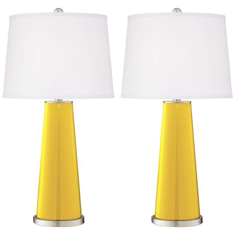 Citrus Leo Table Lamp Set of 2