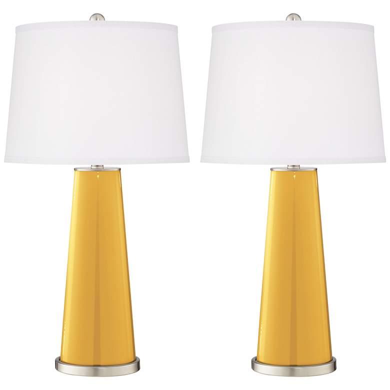 Goldenrod Leo Table Lamp Set of 2