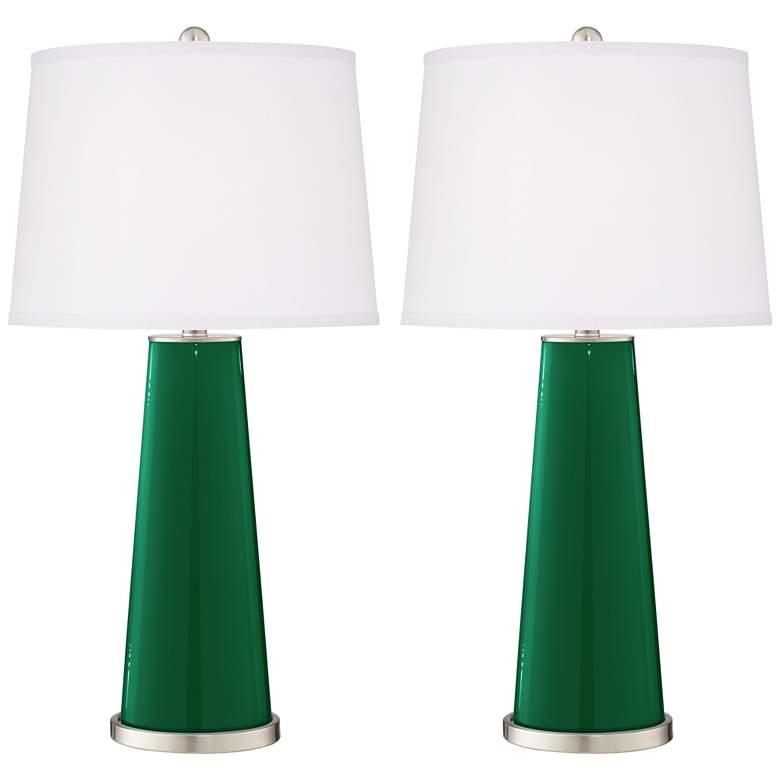 Greens Leo Table Lamp Set of 2