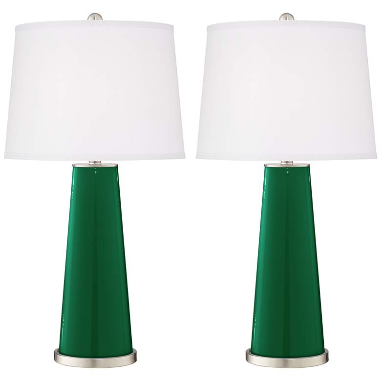 Greens Leo Table Lamp Set of 2