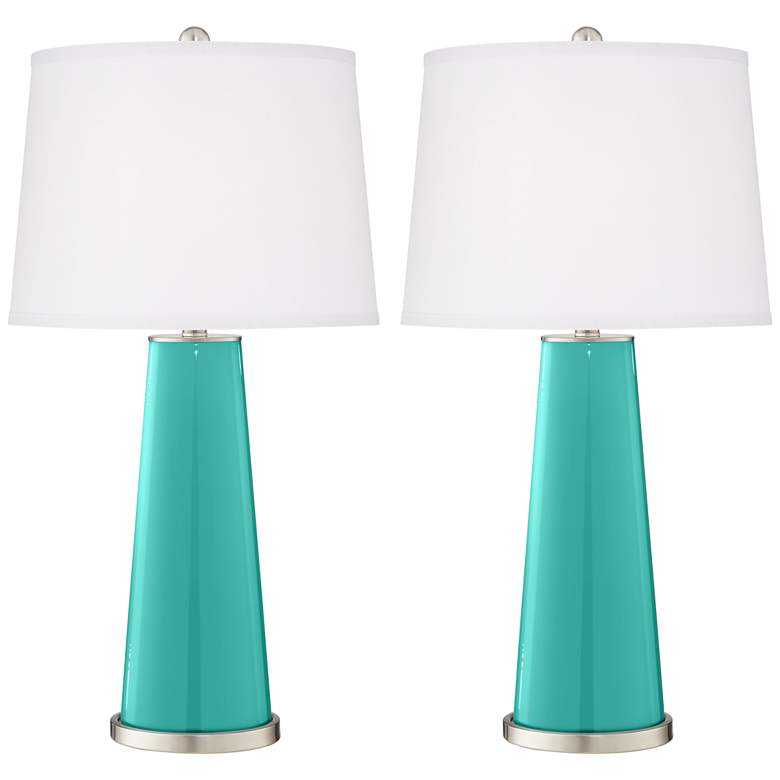 Synergy Leo Table Lamp Set of 2