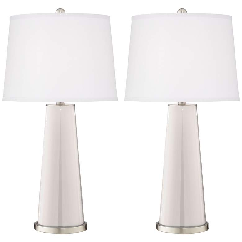 Smart White Leo Table Lamp Set of 2