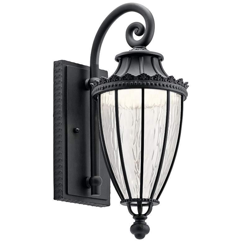 "Kichler Wakefield 17 3/4"" High Black LED Outdoor"