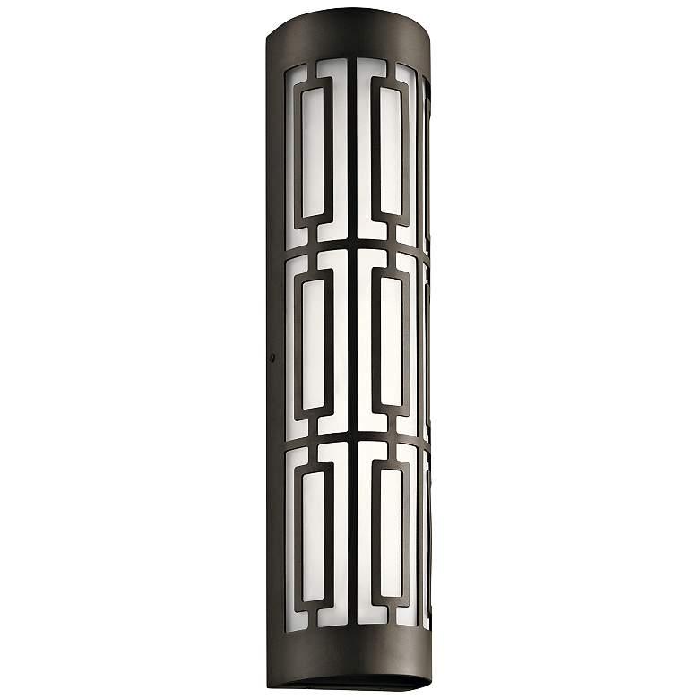 "Kichler Empire 20"" High Olde Bronze 2-LED Outdoor Wall Light"