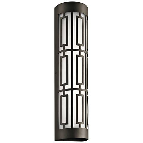 "Kichler Empire 20"" High Olde Bronze 2-LED Outdoor Wall Light"