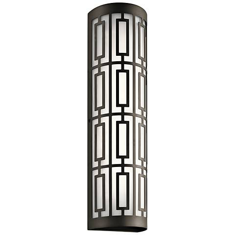 "Kichler Empire 22 1/4""H Olde Bronze 2-LED Outdoor Wall Light"