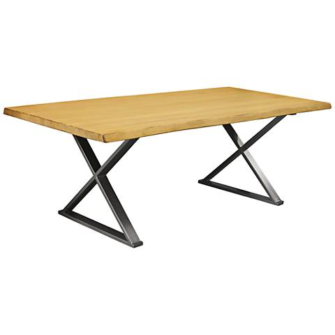 Brooklyn Small Maple Live Edge Dining Table