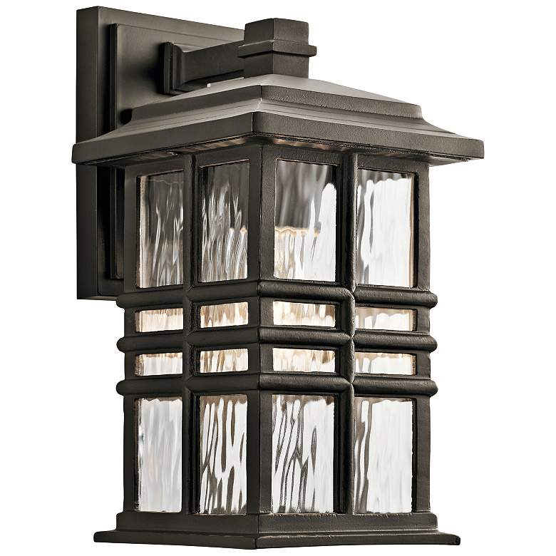 "Kichler Beacon Square 12""H Olde Bronze Outdoor Wall"