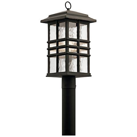 "Kichler Beacon Square 20 1/2"" High Bronze Outdoor Post Light"