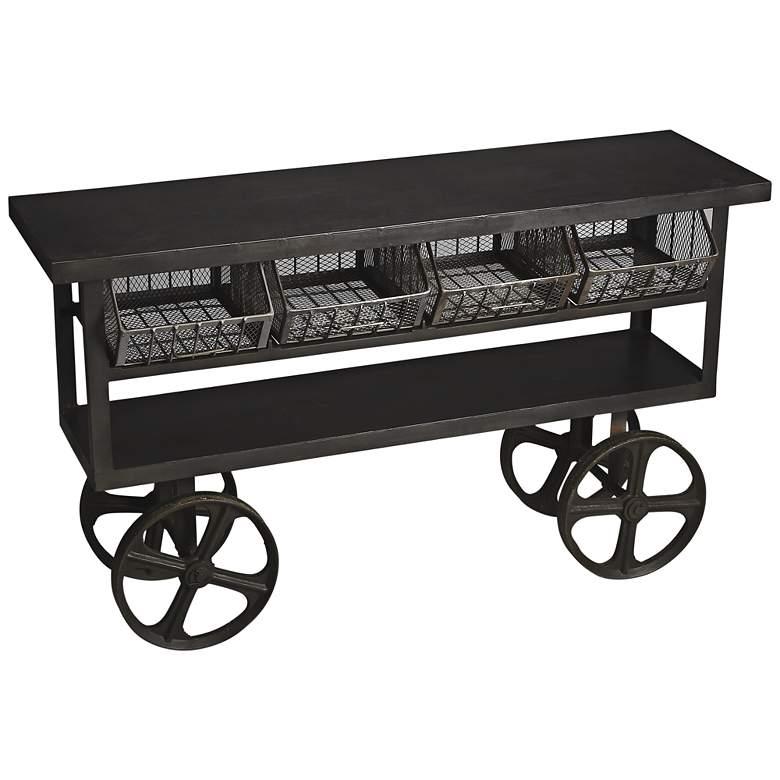 Antietam Metalworks 61 12 Wide Cast Iron Trolley Buffet