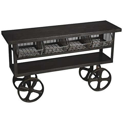 Butler Antietam Metalworks Cast Iron Trolley Buffet