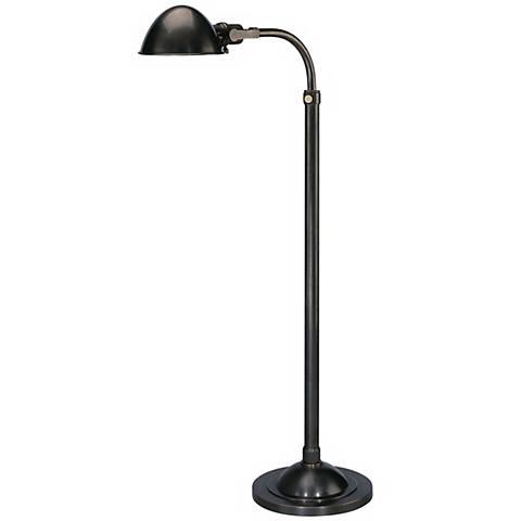 Alvin Patina Bronze Adjustable Pharmacy Floor Lamp