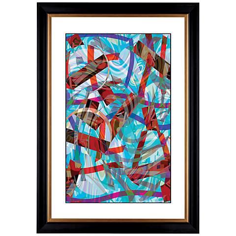 """Giclee Chopsticks 41 3/8"""" High Wall Art"""