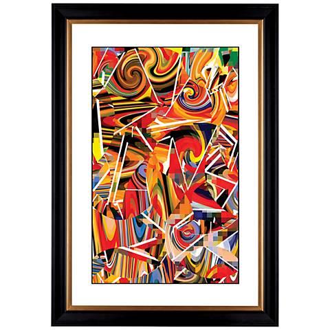 "Giclee Swing Time 41 3/8"" High Wall Art"