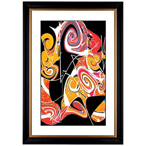 """Giclee Dark Valentine 41 3/8"""" High Wall Art"""