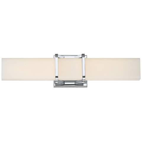 "Platinum Collection Axis 19 1/4"" Wide Chrome LED Bath Light"