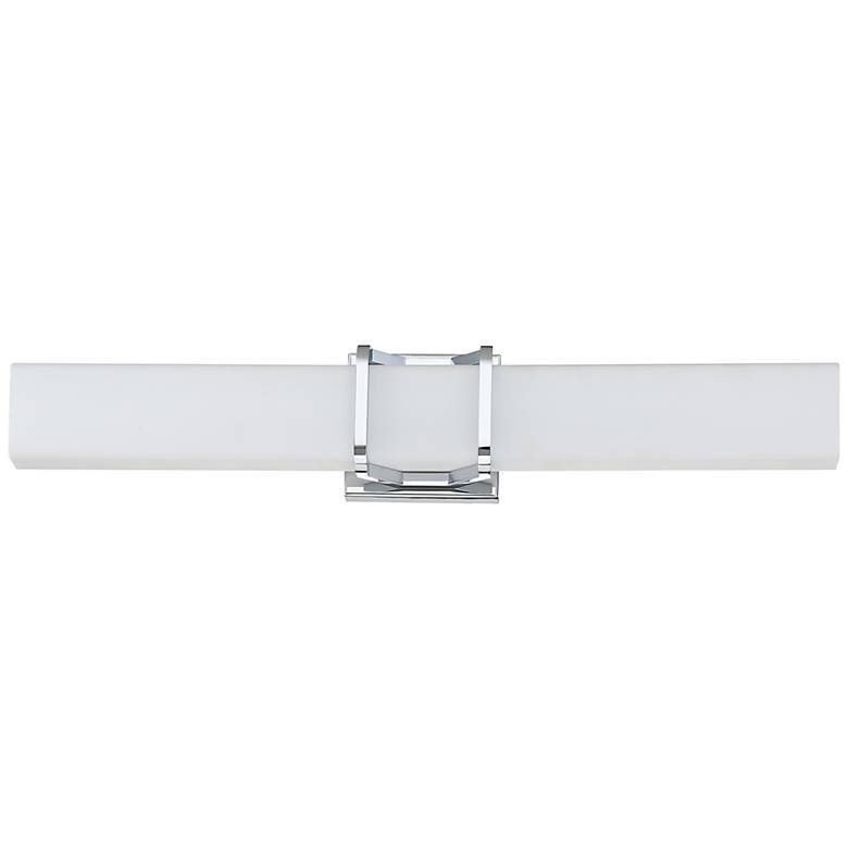 "Platinum Collection Axis 25""W Polished Chrome LED Bath Light"
